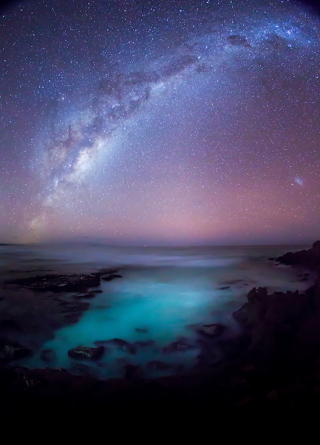 Milky Way over Southern Ocean