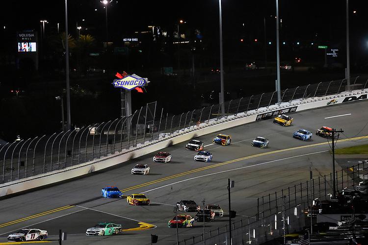 #11: Denny Hamlin, Joe Gibbs Racing, Toyota Camry FedEx Express and #2: Brad Keselowski, Team Penske, Ford Mustang MoneyLion