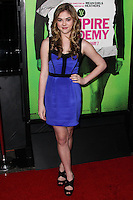 """LOS ANGELES, CA - FEBRUARY 04: McKaley Miller at the Los Angeles Premiere Of The Weinstein Company's """"Vampire Academy"""" held at Regal Cinemas L.A. Live on February 4, 2014 in Los Angeles, California. (Photo by Xavier Collin/Celebrity Monitor)"""