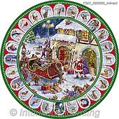 Marcello, CHRISTMAS SANTA, SNOWMAN, WEIHNACHTSMÄNNER, SCHNEEMÄNNER, PAPÁ NOEL, MUÑECOS DE NIEVE, paintings+++++,ITMCXM2202/ADVENT,#x# ,plate,tin,tins