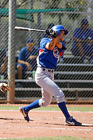Hak-Ju Lee - Chicago Cubs 2009 Instructional League. .Photo by:  Bill Mitchell/Four Seam Images..