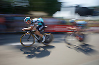 Tony Martin (DEU/Ettix-Quickstep) during the stage 1 prologue recon in Utrecht (13.8km)<br /> <br /> Tour de France 2015