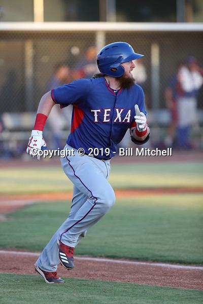 Davis Wendzel - 2019 AZL Rangers (Bill Mitchell)