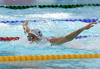France's Aurore Mongel swims during the women's 100 meters butterfly swimming semifinal at the Swimming World Championships in Rome, 26 July 2009..UPDATE IMAGES PRESS/Riccardo De Luca