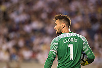 Orlando, FL - Saturday July 22, 2017: Hugo Lloris during the International Champions Cup (ICC) match between the Tottenham Hotspurs and Paris Saint-Germain F.C. (PSG) at Camping World Stadium.
