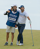 Pablo LARRAZABAL (ESP) and his caddie Raul Quiros during round three of the 2016 Aberdeen Asset Management Scottish Open played at Castle Stuart Golf Golf Links from 7th to 10th July 2016: Picture Stuart Adams, www.golftourimages.com: 09/07/2016