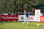 Andrew Dodt of Australia tees off during the 58th UBS Hong Kong Golf Open as part of the European Tour on 11 December 2016, at the Hong Kong Golf Club, Fanling, Hong Kong, China. Photo by Marcio Rodrigo Machado / Power Sport Images