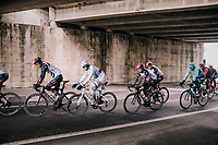 Alexander Kristoff (NOR/Katusha) under the bridge<br /> <br /> 109th Milano-Sanremo 2018<br /> Milano > Sanremo (291km)