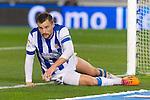 Real Sociedad's Haris Seferovic during Copa del Rey match.November 23,2013. (ALTERPHOTOS/Mikel)