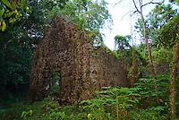 Ruins near Trunk Bay<br /> Virgin Islands National Park<br /> St. John<br /> U.S. Virgin Islands