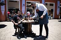 Reactivacion Economica Restaurantes y Cafes, Coronavirus, Bogota, Colombia. 05-09-2020