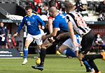 St Mirren v St Johnstone…29.08.21  SMiSA Stadium    SPFL<br />Glenn Middleton runs at the St Mirren defence<br />Picture by Graeme Hart.<br />Copyright Perthshire Picture Agency<br />Tel: 01738 623350  Mobile: 07990 594431