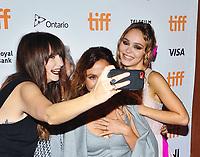 "17 September 2021 - Toronto, Ontario, Canada - Nathalie Biancheri, Lily-Rose Depp. 2021 Toronto International Film Festival - ""Wolf"" Premiere held at Princess of Wales Theatre. Photo Credit: Brent Perniac/AdMedia"