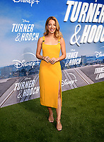 """LOS ANGELES, CA - JULY 15: Vanessa Lengies attends a premiere event for the Disney+ original series """"Turner & Hooch"""" at Westfield Century City on July 15, 2021 in Los Angeles, California. (Photo by Frank Micelotta/Disney+/PictureGroup)"""