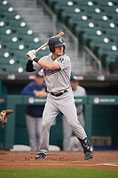 Scranton/Wilkes-Barre RailRiders Trey Amburgey (29) at bat during an International League game against the Buffalo Bisons on June 5, 2019 at Sahlen Field in Buffalo, New York.  Scranton defeated Buffalo 3-0, the first game of a doubleheader.  (Mike Janes/Four Seam Images)