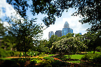 Photography of the Fourth Ward Park in Uptown/Downtown Charlotte, North Carolina.<br />  <br /> <br /> <br /> <br /> Charlotte Photographer -PatrickSchneiderPhoto.com