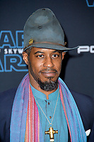 "LOS ANGELES, USA. December 17, 2019: Ahmed Best at the world premiere of ""Star Wars: The Rise of Skywalker"" at the El Capitan Theatre.<br /> Picture: Paul Smith/Featureflash"
