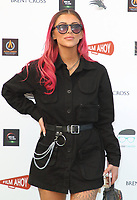 Chelsea Ruby at the first ever UK Drive-In Film Premiere of 'Break' at Brent Cross in London. This is the first Red Carpet event in the UK since the Covid-19 Pandemic lockdown. The film will be rolled out nationwide in other drive-in venues. Brent Cross, London 22nd July 2020<br /> CAP/ROS<br /> ©ROS/Capital Pictures