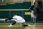 Reno Aces' Christian Walker gets an out against the Tacoma Rainiers, in Reno, Nev., on Friday, May 28, 2021. <br /> Photo by Cathleen Allison