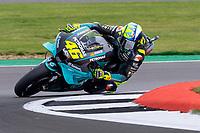 28th August 2021; Silverstone Circuit, Silverstone, Northamptonshire, England; MotoGP British Grand Prix, Qualifying Day; Petronas Yamaha SRT rider Franco Valentino Rossi on his Yamaha YZR-M1