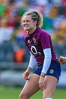 Ellie Kildunne of England before the Guinness Six Nations match between England Women and Scotland Women at Castle Park Stadium, Doncaster, England on 3 April 2021. Photo by Thomas Gadd / PRiME Media Images.