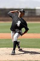 Kelvin Jimenez -  Chicago White Sox - 2009 spring training.Photo by:  Bill Mitchell/Four Seam Images