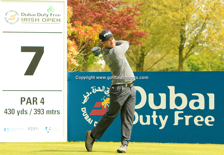 David Lingmerth (SWE) during round one of the 2016 Dubai Duty Free Irish Open hosted by The Rory Foundation and played at The K-Club, Straffan, Ireland. Picture Stuart Adams, www.golftourimages.com: 19/05/2016