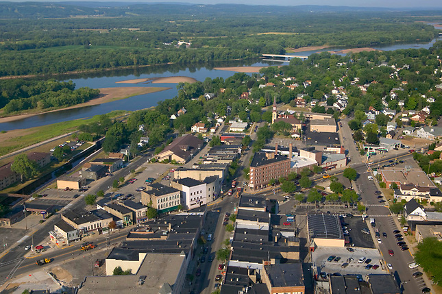 Portage Wisconsin on Wisconsin River.