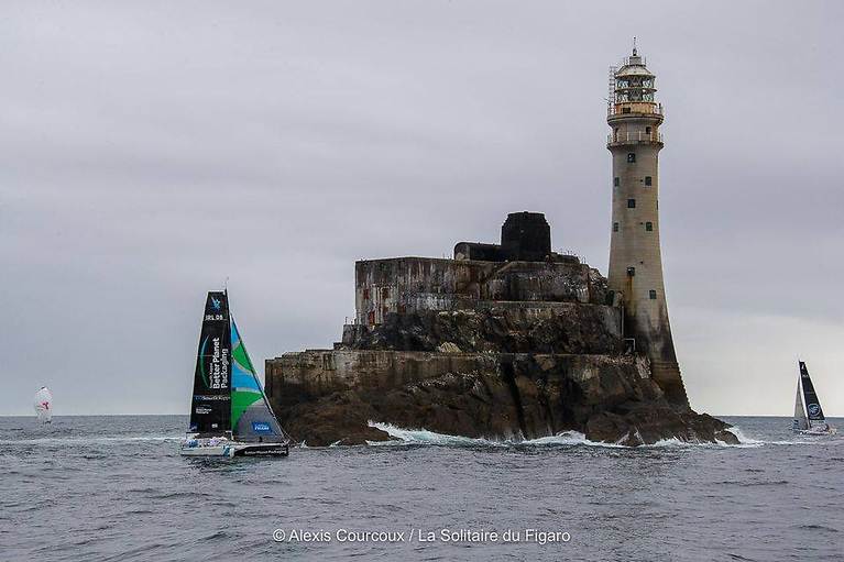 Ireland's Tom Dolan is expected to return to the Fastnet Rock this week in the final stage of the 2021 Figaro solo race