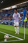 Real Valladolid's Oscar Plano during La Liga match. August 31, 2018. (ALTERPHOTOS/A. Perez Meca)