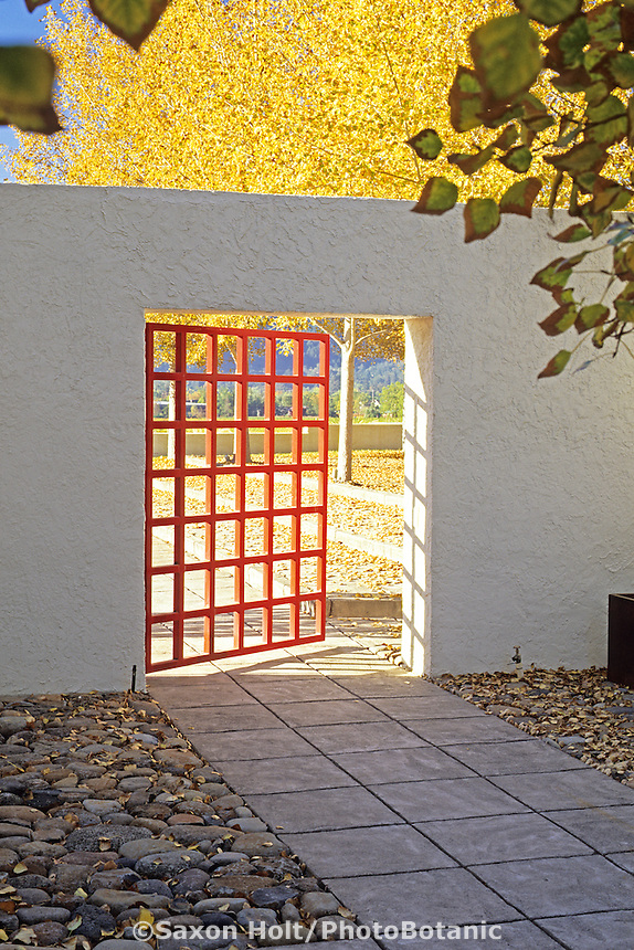 Entry gate. Jack Chandler design