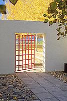 Entry gate. Jack Chandler design