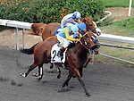 October 3, 2010.Rigoletta riden by David Flores wins The Oak Leaf Stakes at Hollywood Park, Inglewood, CA._Cynthia Lum/Eclipse Sportswire.com