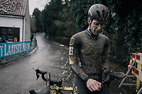 Daan Soete (BEL/Telenet Fidea Lions)<br /> <br /> Elite Men's Race<br /> CX Vlaamse Druivencross Overijse 2017
