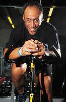 120829 USO Bike Ride Contestant Chris Te'o