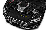 2018 Audi S5 Prestige 4wd 2 Door Convertible engine high angle detail view
