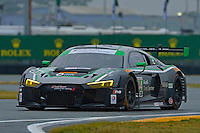 27-29 January,28-31 January, 2016, Daytona Beach, Florida USA<br /> 44, Audi, R8 LMS GT3, GTD, John Potter, Andy Lally, Marco Seefried, Rene Rast<br /> ©2016, F. Peirce Williams