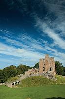 Norham Castle near Norham, Northumberland