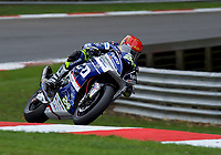 Christian Iddon (24) of Tyco BMW Motorrad during 2nd practice in the MCE BRITISH SUPERBIKE Championships 2017 at Brands Hatch, Longfield, England on 13 October 2017. Photo by Alan  Stanford / PRiME Media Images.