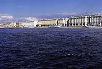 San Pietroburgo vista dal Volga