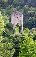 the tower tournon sur rhone rhone france
