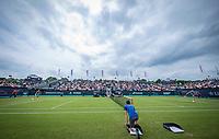 Den Bosch, Netherlands, 12 June, 2018, Tennis, Libema Open, Kiki Bertens (NED) vs Natalia Vikhlyantseva (RUS)<br /> Photo: Henk Koster/tennisimages.com