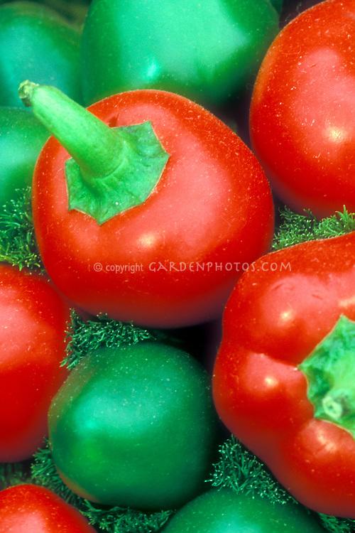 Cherry pepper Baccio di Santa heirloom hot pepper from Italy