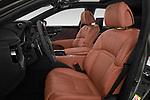 Front seat view of a 2018 Lexus LS President 4wd 4 Door Sedan front seat car photos