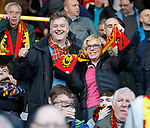 04.05.2018 Partick Thistle v Ross County: Partick Thistle ultras