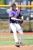 May 15, 2009:  Pitcher Michael Kellar of Niagara University delivers a pitch during a game at Demske Sports Complex in Buffalo, NY.  Photo by:  Mike Janes/Four Seam Images