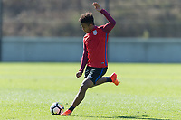 Lisbon, Portugal - Saturday November 11, 2017: The USMNT training at Cidade do Futebol.