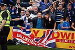 04.08.2019 Kilmarnock v Rangers: Rangers fans