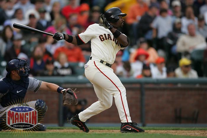 Ray Durham. Baseball: Milwaukee Brewers vs San Francisco Giants. April 23, 2005 at AT&T Park in San Francisco.