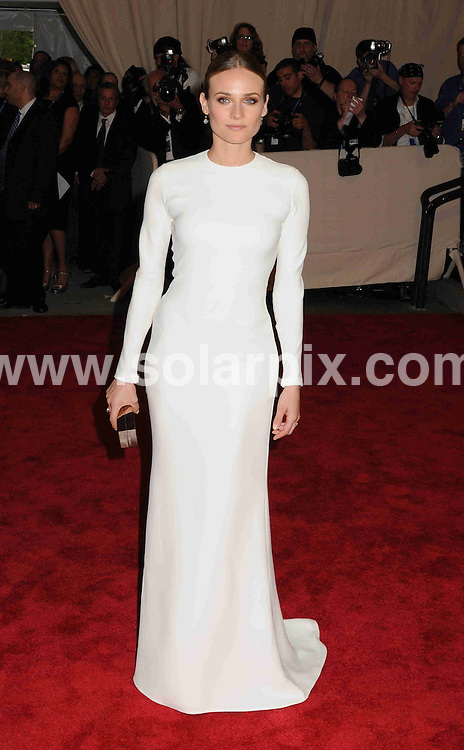 **ALL ROUND PICTURES FROM SOLARPIX.COM**.**SYNDICATION RIGHTS FOR UK, AUSTRALIA, DENMARK, PORTUGAL, S. AFRICA, SPAIN & DUBAI (U.A.E) & ASIA (EXCLUDING JAPAN) ONLY**.arrivals for the American Woman: Fashioning a National Identity Costume Institute Gala at the Metropolitan Museum of Art, New York City, NY, USA. 3 May 2010..This pic: Diane Kruger..JOB REF: 11198 PHZ Wild1  DATE: 03_05_2010.**MUST CREDIT SOLARPIX.COM OR DOUBLE FEE WILL BE CHARGED**.**MUST NOTIFY SOLARPIX OF ONLINE USAGE**.**CALL US ON: +34 952 811 768 or LOW RATE FROM UK 0844 617 7637**
